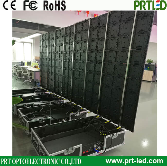 Pop-up Indoor P6 LED Display Poster Screen with Slim Thickness Modules