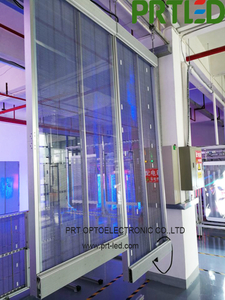 Glass Transparent Indoor Outdoor LED Display for Advertising (P3.9, P5)