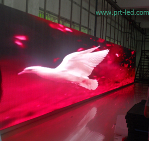 Indoor Outdoor Transparent Screen Display Curtain of P12.5 Mesh/Strip