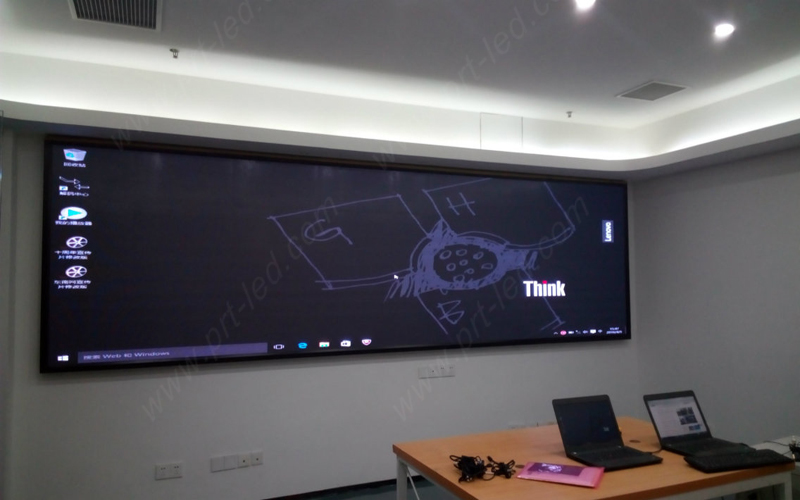 Programmable 4k Video Wall P1.9 LED Display for Studio/Meeting Room