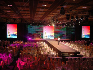 P16 Full Color LED Curtain for Indoor Background Screen