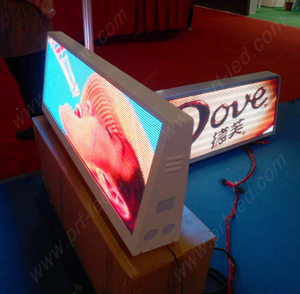 Waterproof Full Color P5 LED Display for Car Roof/Top