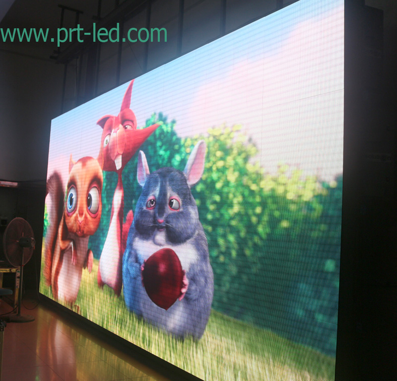 Full Color Slim Indoor P6 Rental LED Display/Video Screen (576X576mm)