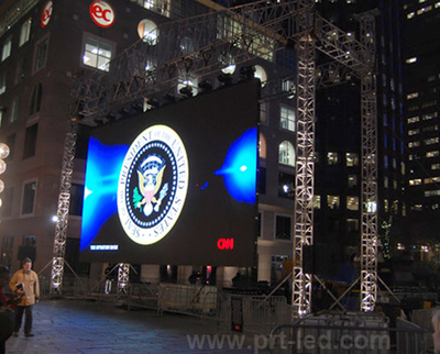 Slim Thickness P6 Full Color LED Display Screen for Outdoor Rental
