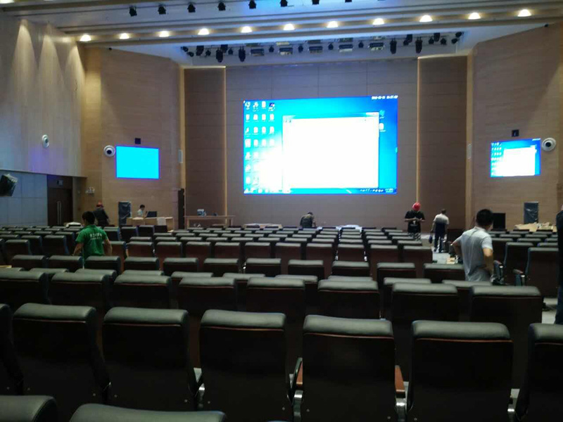 Programmable 4k Video Wall P1 9 LED Display for Studio/Meeting Room