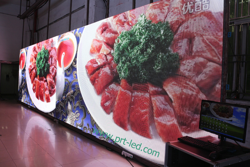 P5 P6.67 P8 P10 Outdoor Full Color Rental Advertising LED Sign/Display Panel (640X640mm Die-Casting)
