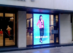 High Definition P3 Full Color LED Window Display for Shop/Corridor