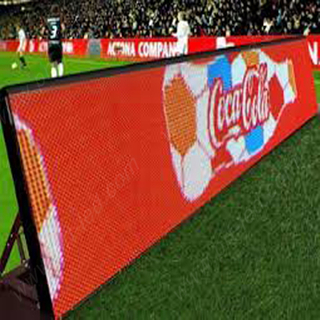 P10 Outdoor Football Stadium Perimeter LED Display Screen