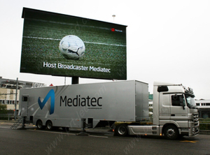 Truck Mounted Outdoor Advertising LED Display Screen (P10 DIP346)