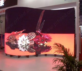 P5.95 Full Color Curved LED Display Screen for Outdoor /Indoor