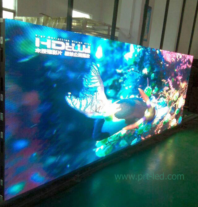 P4.8 Full Color Background LED Screen with Slim Aluminum Panel
