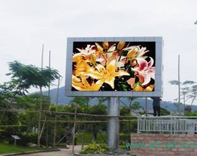 High Resolution Full Color LED Advertising Board (P5, P6)