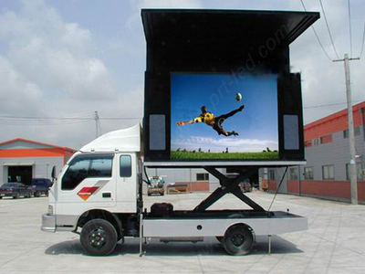 Full Color Outdoor LED Moving Sign for Track Mounting