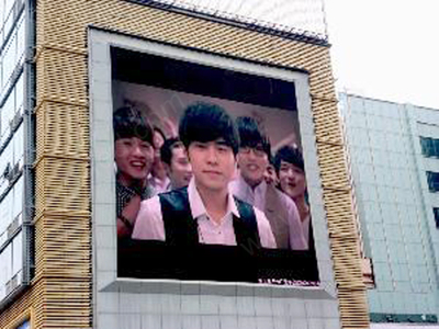 Waterproof Full Color LED Billboard Video Advertising of P10 SMD